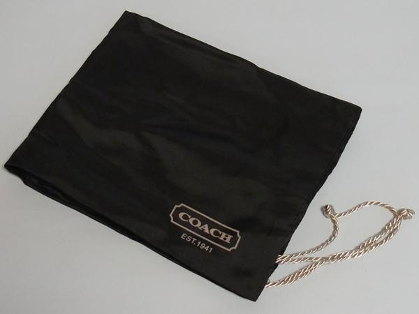 コーチ レディースバッグ 保存袋 茶色