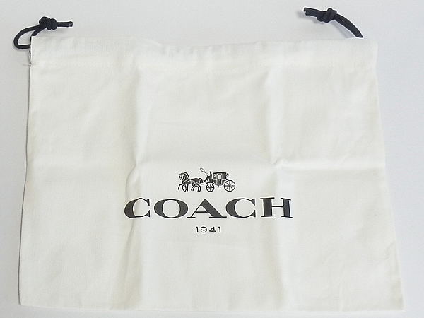 コーチ財布の保存袋