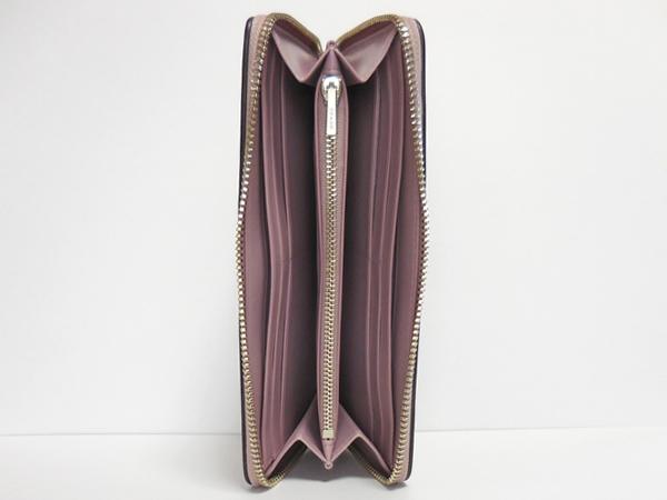 コーチ 長財布F53707薄紫 内装