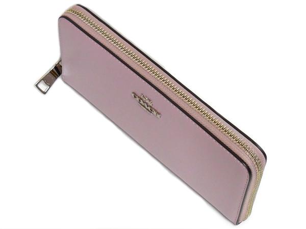 コーチ 長財布F53707薄紫 天面