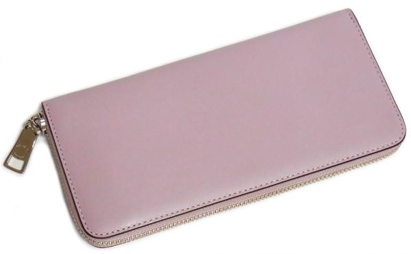 コーチ 長財布F53707薄紫 背面