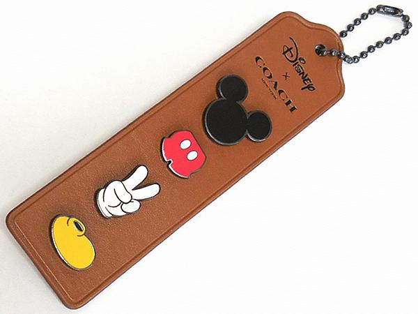 コーチ ミッキーマウス ピンバッジセットF59310 表