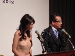 司会の赤坂さんと吉井さん