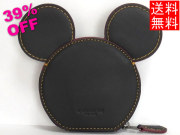 かくれミッキー型コインケース コーチF59071黒